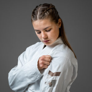 hyperfly bjj gi ladies hyperlyte 2.0 white bronze 3