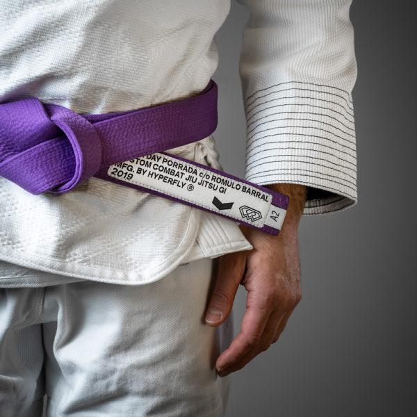 hyperfly x everyday porrada bjj belt purple 2