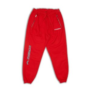 hyperfly active jogger pants red 1