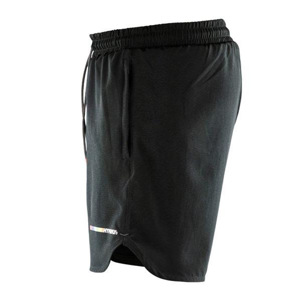 hyperfly athletic shorts icon black 2