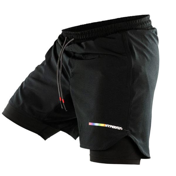 hyperfly athletic shorts icon black 5