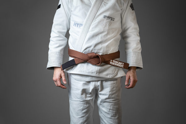 hyperfly bjj belt ycth comp brown 1