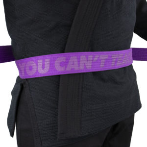 hyperfly bjj belt ycth purple 2