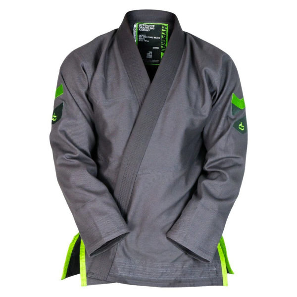 hyperfly bjj gi hyperlyte 2 0 grey matrix green 1