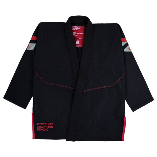 hyperfly bjj gi hyperlyte 2.5 black burgundy 1