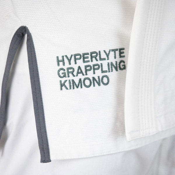 hyperfly bjj gi hyperlyte 2.5 white grey 3