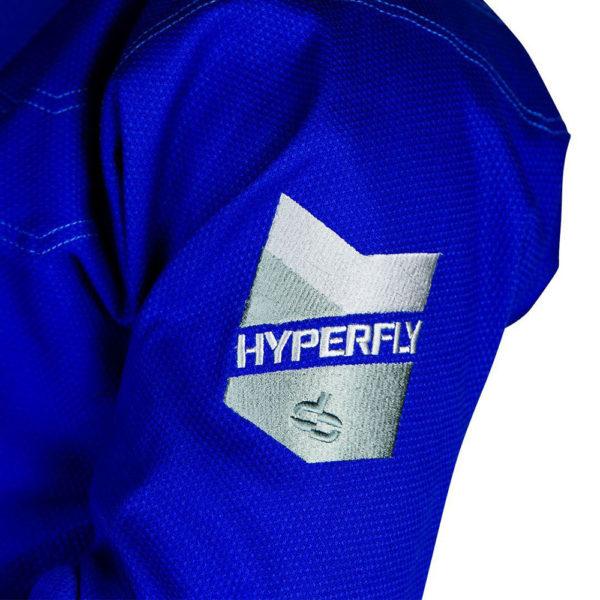 hyperfly bjj gi procomp 3 0 blue 3