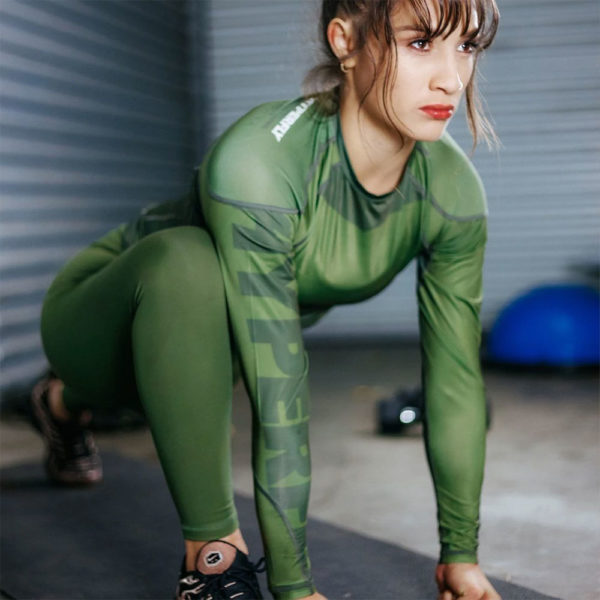 hyperfly flygirl athletic tights olive 9