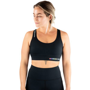 hyperfly flygirl sports bra 2.0 black 3