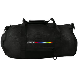 hyperfly foam mesh gear bag black