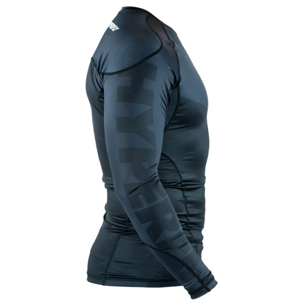 hyperfly rashguard procomp supreme long sleeve black 2