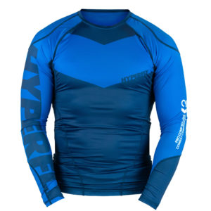 hyperfly rashguard procomp supreme long sleeve blue 1