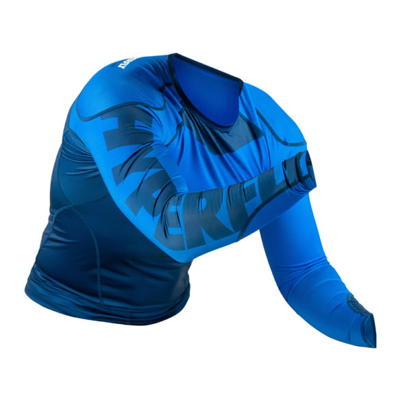 hyperfly rashguard procomp supreme long sleeve blue 6