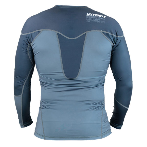hyperfly rashguard procomp supreme long sleeve grey 2