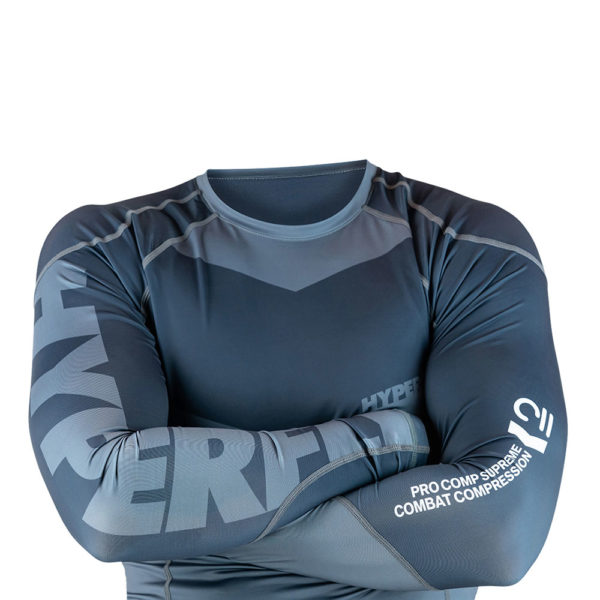 hyperfly rashguard procomp supreme long sleeve grey 4