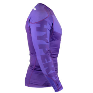 hyperfly rashguard procomp supreme long sleeve purple 2