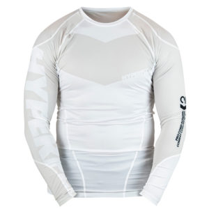 hyperfly rashguard procomp supreme long sleeve white 1