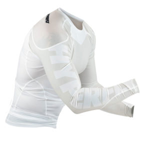 hyperfly rashguard procomp supreme long sleeve white 5
