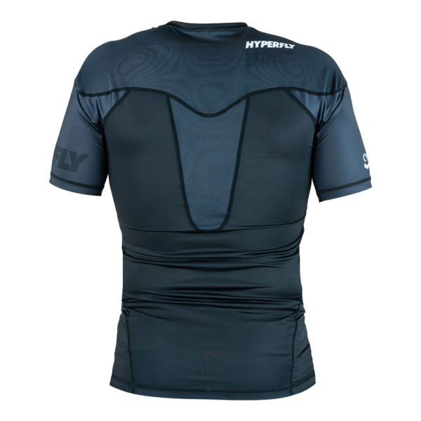 hyperfly rashguard procomp supreme short sleeve black 3