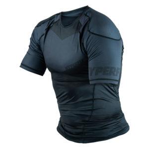 hyperfly rashguard procomp supreme short sleeve black 6