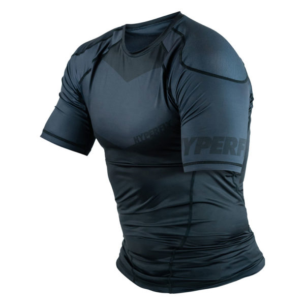 hyperfly rashguard procomp supreme short sleeve black 6