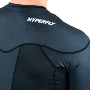 hyperfly rashguard procomp supreme short sleeve black 9