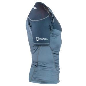 hyperfly rashguard procomp supreme short sleeve grey 2