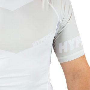 hyperfly rashguard procomp supreme short sleeve white 5