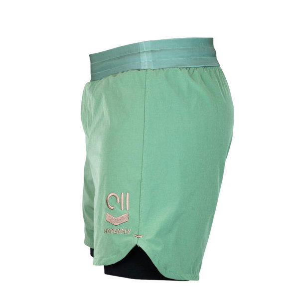 hyperfly shorts icon sagegold 5