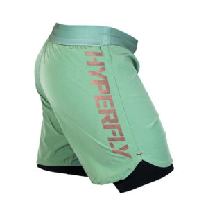 hyperfly shorts icon sagegold 6