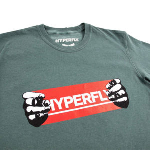 hyperfly t shirts hands teal 2
