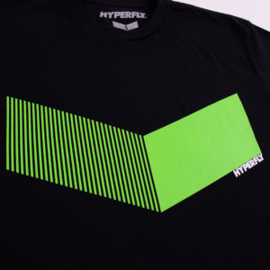 hyperfly t shirts icon black neon 2