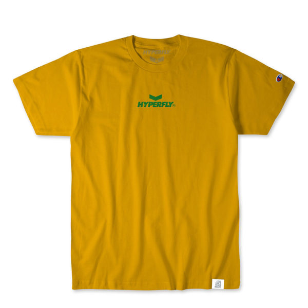 hyperfly t shirts mantra champion edition gold 1