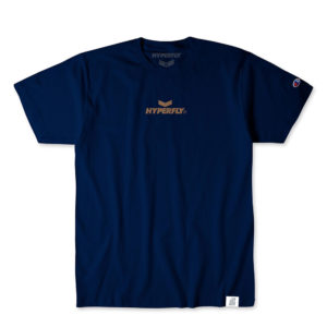 hyperfly t shirts mantra champion edition navy 1
