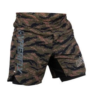 hyperfly x one fc shorts tiger camo 2