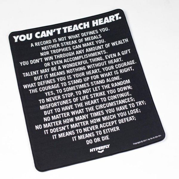 ycth mantra poster patch black 1