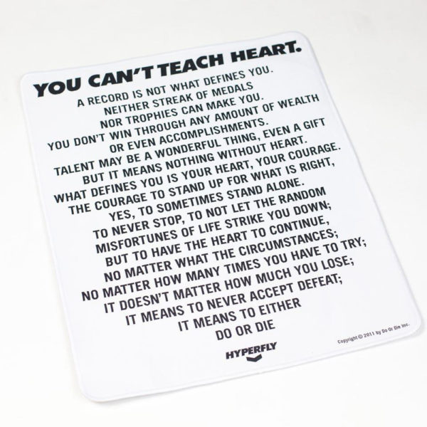 ycth mantra poster patch white 1